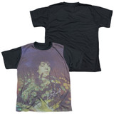 Syd Barrett Pink Floyd Title Youth Sublimated T-Shirt White