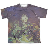 Syd Barrett Pink Floyd Title Youth Sublimated Crew T-Shirt White