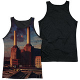 Pink Floyd Animals Adult Sublimated Tank Top T-Shirt White/Black