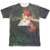 Pink Floyd Dark Side Of The Moon Adult Sublimated T-Shirt White