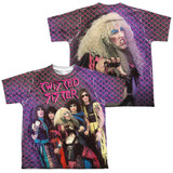 Twisted Sister Twisted 1984 (Front/Back Print) Youth Sublimated Crew T-Shirt White
