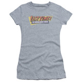 Fast Times at Ridgemont High Distressed Logo S/S Junior Women's T-Shirt Sheer Athletic Heather