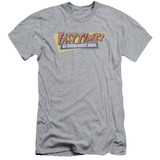 Fast Times at Ridgemont High Distressed Logo S/S Adult 30/1 T-Shirt Athletic Heather
