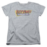 Fast Times at Ridgemont High Distressed Logo S/S Women's T-Shirt Athletic Heather