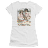 Fast Times at Ridgemont High Fast Carrots S/S Junior Women's T-Shirt Sheer White