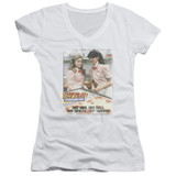 Fast Times at Ridgemont High Fast Carrots Junior Women's T-Shirt V-Neck White