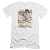 Fast Times at Ridgemont High Fast Carrots Premium Canvas Adult Slim Fit 30/1 T-Shirt White
