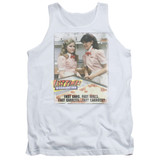 Fast Times at Ridgemont High Fast Carrots Adult Tank Top White