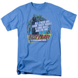 Fast Times at Ridgemont High Tasty Waves S/S Adult 18/1 T-Shirt Carolina Blue