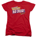 Fast Times at Ridgemont High No Dice S/S Women's T-Shirt Red