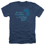 Fast Times at Ridgemont High All I Need Adult Heather Navy