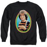 Mork & Mindy Mork Adult Crewneck Sweatshirt Black