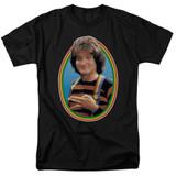 Mork & Mindy Mork S/S Adult 18/1 T-Shirt Black