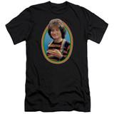 Mork & Mindy Mork Premium Canvas Adult Slim Fit 30/1 T-Shirt Black