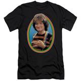 Mork & Mindy Mork S/S Adult 30/1 T-Shirt Black