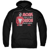 Mork & Mindy Mork Calling Orson Adult Pullover Hoodie Sweatshirt Black