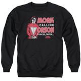 Mork & Mindy Mork Calling Orson Adult Crewneck Sweatshirt Black