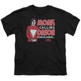 Mork & Mindy Mork Calling Orson S/S Youth 18/1 T-Shirt Black