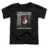 Mister Rogers A Snappy New Day S/S Toddler T-Shirt Black