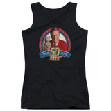 Mister Rogers 50th Anniversary Design Junior Women's Tank Top Black