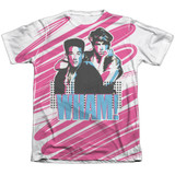 Wham Boys Adult Sublimated T-Shirt White