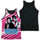 Wham Boys Adult Sublimated Tank Top T-Shirt White/Black