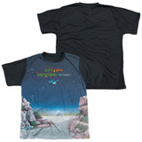 Yes Topographic Oceans Youth Sublimated T-Shirt White