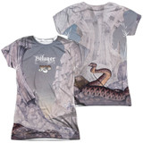 Yes Relayers Sub (Front/Back Print) Junior Women's Sublimated Crew T-Shirt White