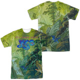 Yes Fly From Here (Front/Back Print) Adult Sublimated Crew T-Shirt White