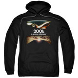 2001 A Space Odyssey Prologue Epilogue Adult Pullover Hoodie Sweatshirt Black