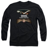 2001 A Space Odyssey Prologue Epilogue Adult Long Sleeve T-Shirt Black