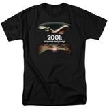 2001 A Space Odyssey Prologue Epilogue Adult 18/1 T-Shirt Black