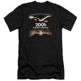 2001 A Space Odyssey Prologue Epilogue Premium Adult 30/1 T-Shirt Black