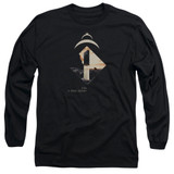 2001 A Space Odyssey Monolith Adult Long Sleeve T-Shirt Black