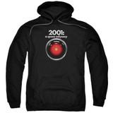 2001 A Space Odyssey Hal Adult Pullover Hoodie Sweatshirt Black