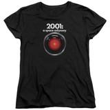 2001 A Space Odyssey Hal Women's T-Shirt Black
