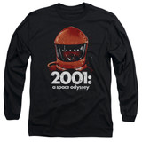 2001 A Space Odyssey Space Travel Adult Long Sleeve T-Shirt Black