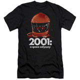 2001 A Space Odyssey Space Travel Adult 30/1 T-Shirt Black
