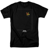 2001 A Space Odyssey Float Adult 18/1 T-Shirt Black