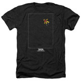 2001 A Space Odyssey Float Adult Heather T-Shirt Black