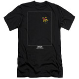 2001 A Space Odyssey Float Adult 30/1 T-Shirt Black