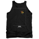 2001 A Space Odyssey Float Adult Tank Top T-Shirt Black