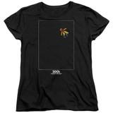 2001 A Space Odyssey Float Women's T-Shirt Black
