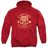 A Christmas Story Chop Suey Palace Co Adult Pullover Hoodie Sweatshirt Red