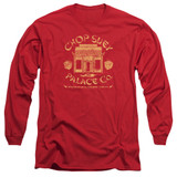 A Christmas Story Chop Suey Palace Co Adult Long Sleeve T-Shirt Red