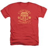 A Christmas Story Chop Suey Palace Co Adult Heather T-Shirt Red