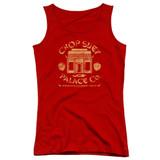 A Christmas Story Chop Suey Palace Co Junior Women's Tank Top T-Shirt Red
