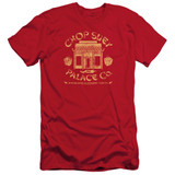 A Christmas Story Chop Suey Palace Co Adult 30/1 T-Shirt Red