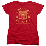 A Christmas Story Chop Suey Palace Co Women's T-Shirt Red