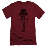 A Christmas Story Fragile Adult 30/1 T-Shirt Cardinal